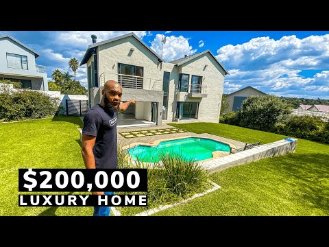 Whats Inside a $200K Johannesburg South African Mansion?