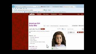 American Girl Doll Just like you number Wiki Site