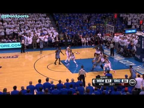 OKC Thunder 2014 Playoffs: First Round Highlights vs. Memphis Grizzlies