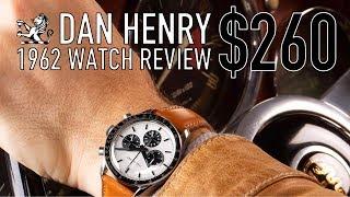 Baixar Best $260 Omega Speedmaster Alternative? - Dan Henry 1962 Watch Review