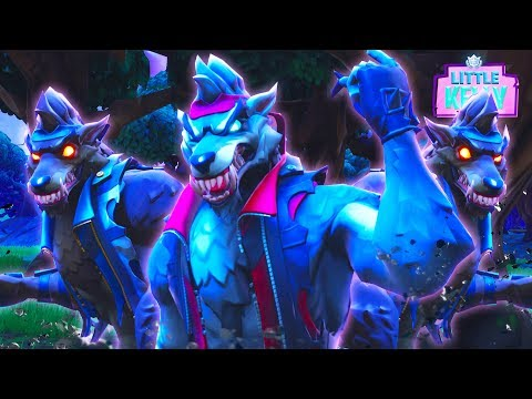 DIRE STARTS HIS WOLF ARMY! Fortnite Season 6 Short Film | Little Kelly