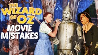 11 biggest mistakes in The Wizard of Oz