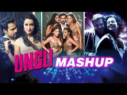 Ungli MashUp - Dj Kiran Kamath | Emraan | Kangana | Randeep | Shraddha