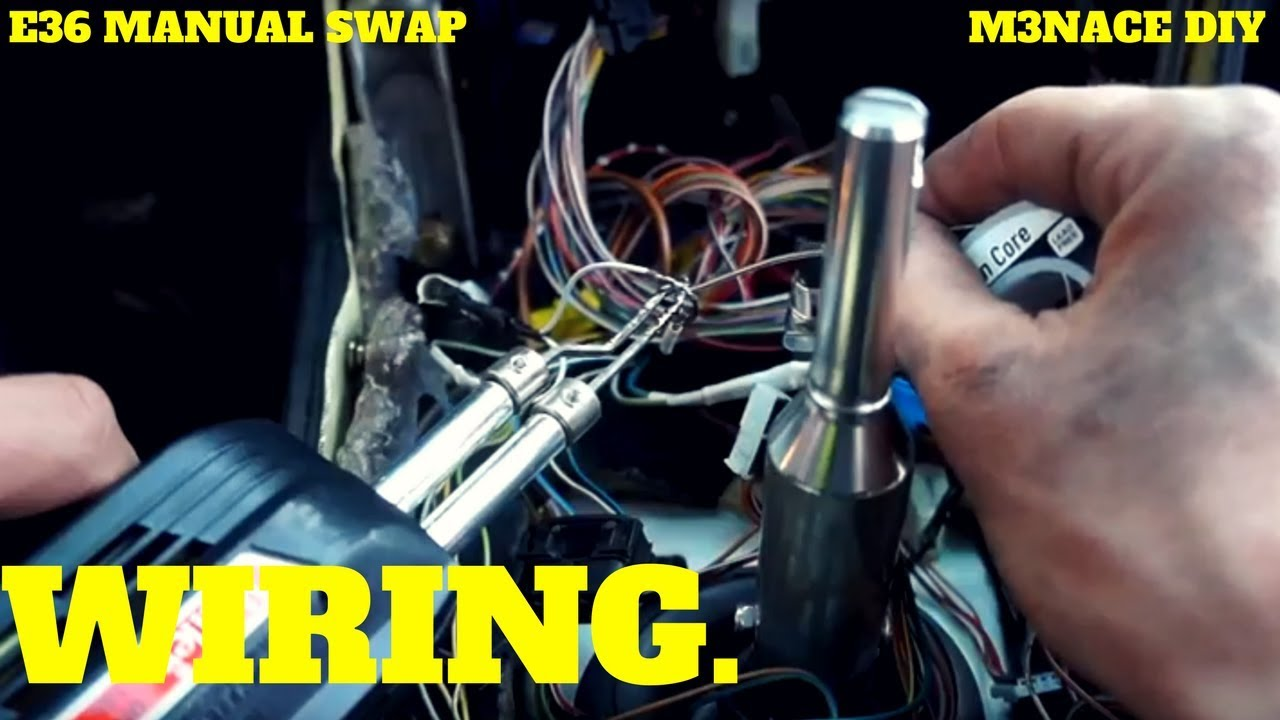 small resolution of wiring e36 manual swap