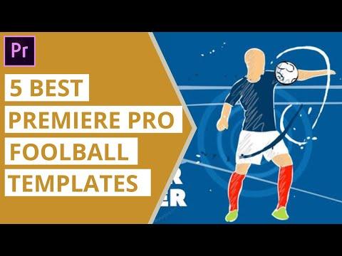 5 Best Premiere Pro Football Templates