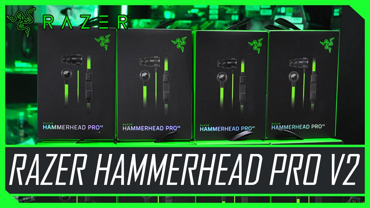 unboxing do fone razer hammerhead pro v2 youtube. Black Bedroom Furniture Sets. Home Design Ideas