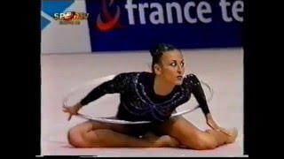 Anna KWITNIEWSKA (POL) hoop - 2000 Europeans Zaragoza Team