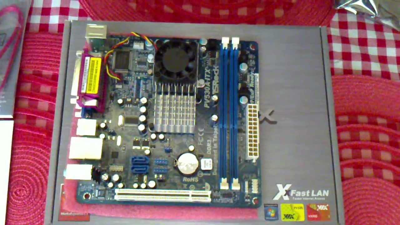 Driver: Asrock PV530A-ITX XFast LAN