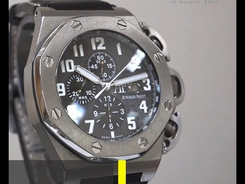 Audemars Piguet - T3 Offshore Limited Edition with Grey Dial - Ref No.  25863TI.OO.A001CU.01