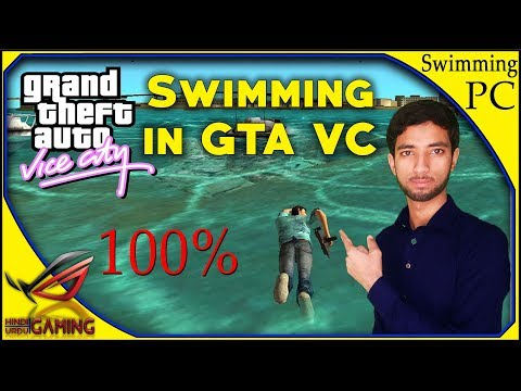 How To Install Swimming Mod In GTA Vice City PC || Hindi Urdu