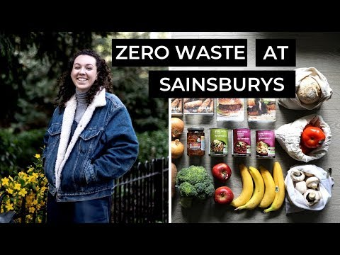 I Tried Zero Waste Grocery Shopping at Sainsbury's