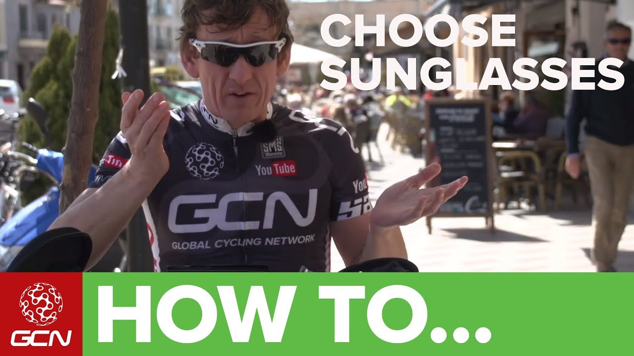 sunglasses for bike riding  How To Choose Sunglasses For Cycling - YouTube
