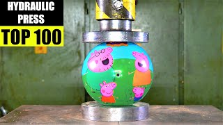 Top 100 Best Hydraulic Press Moments VOL 5 | Satisfying Crushing Compilation