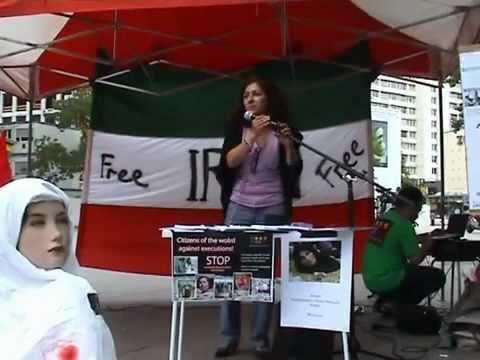 Iranian Sakineh Mohammadi Ashtiani international day - Germany Berlin 24 July 2010