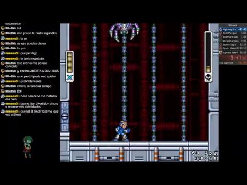 Rockman X Speedrun practice!   Don't believe me just watch