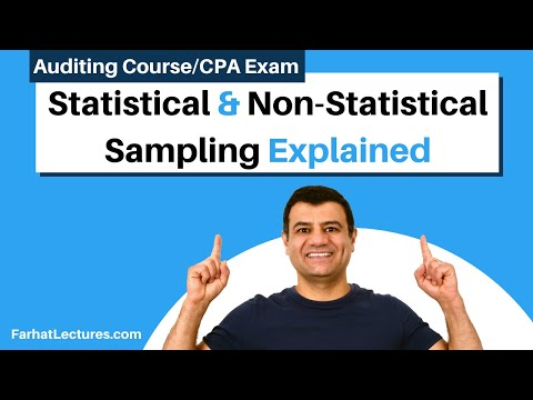 Statistical And Non-Statistical Sampling-Probabilistic Selection| Auditing And Attestation |CPA Exam