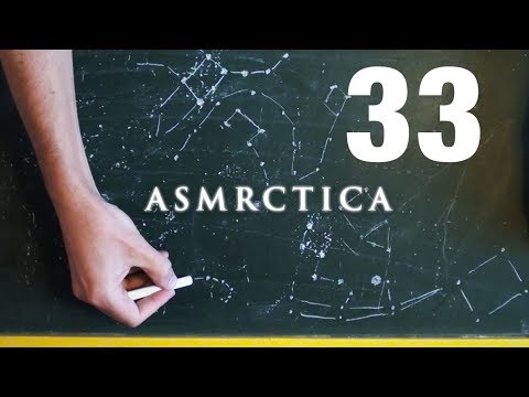 ASMR Chalkboard drawing Stellar constellations & Stars