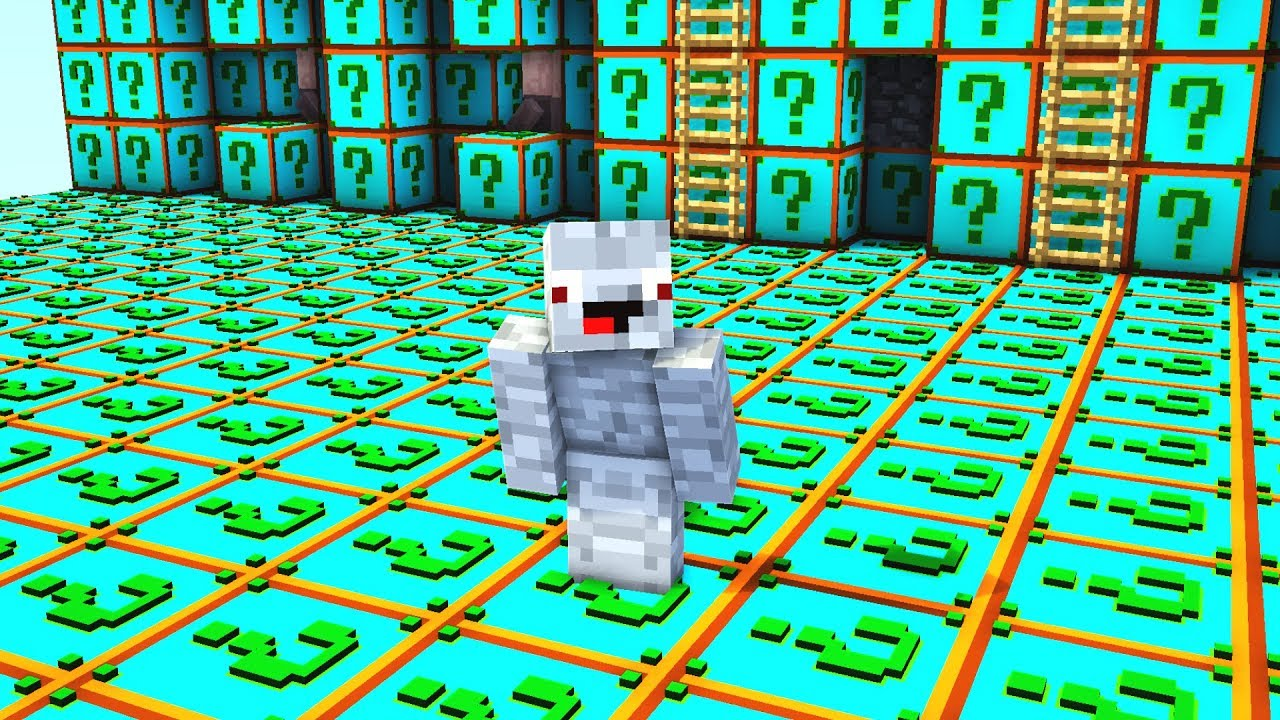 Die Ganze Base Besteht Aus Plural Lucky Blocks Minecraft Lucky