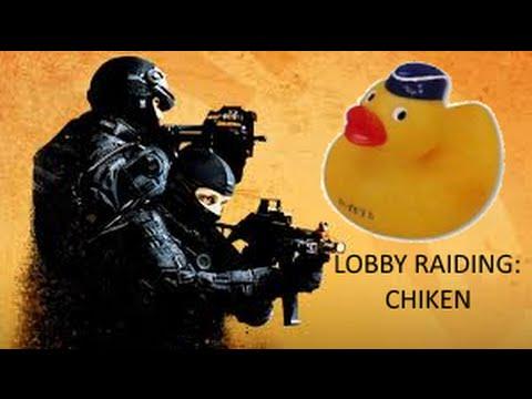 Raiding Lobbies As Chiken (CS:GO)