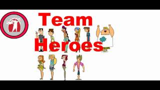 Total Drama Evolution Season 5: Teams