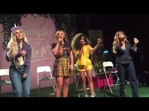 Little Mix - Touch Acoustic - Simple X Little Mix Event - London