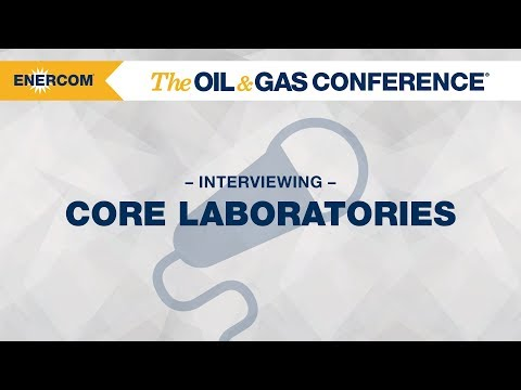 Core Laboratories CEO David Demshur at EnerCom's The Oil & Gas Conference® 2017