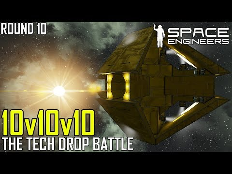 Space Engineers: The Loot Drop Encounter - PVP SURVIVAL #10 (Multi-PoV)