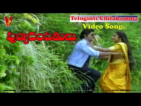 TELUGINTI CHILAKAMMA VIDEO SONG | PUNYADAMPATHULU | SHOBAN BABU | SUHASINI | V9 VIDEOS