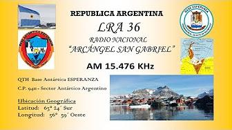 LRA36 Radio San Gabriel - YouTube