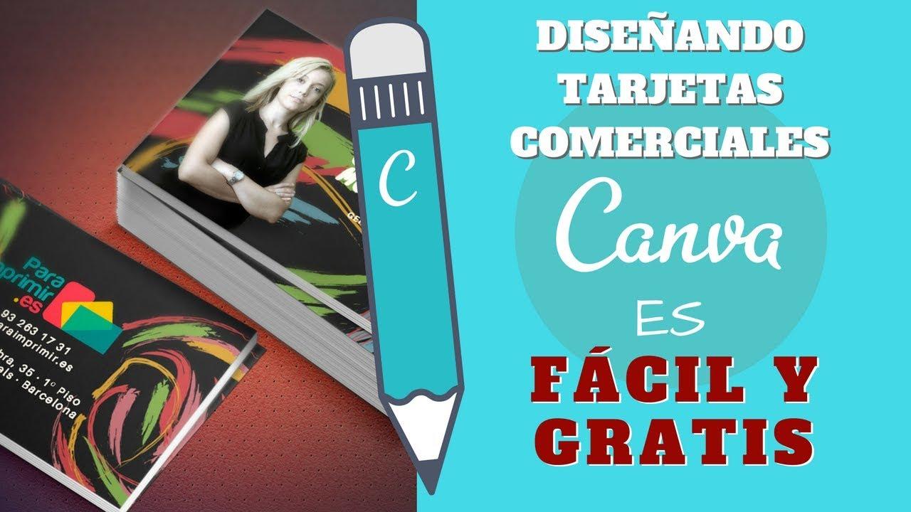 Crear Tarjetas Comerciales Con Canva Es Fácil Y Gratis