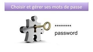Sécurité informatique 3 ème partie: Gerer les mots de passe