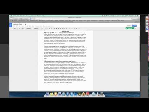 How to Use Google Docs  - Marc Aronson