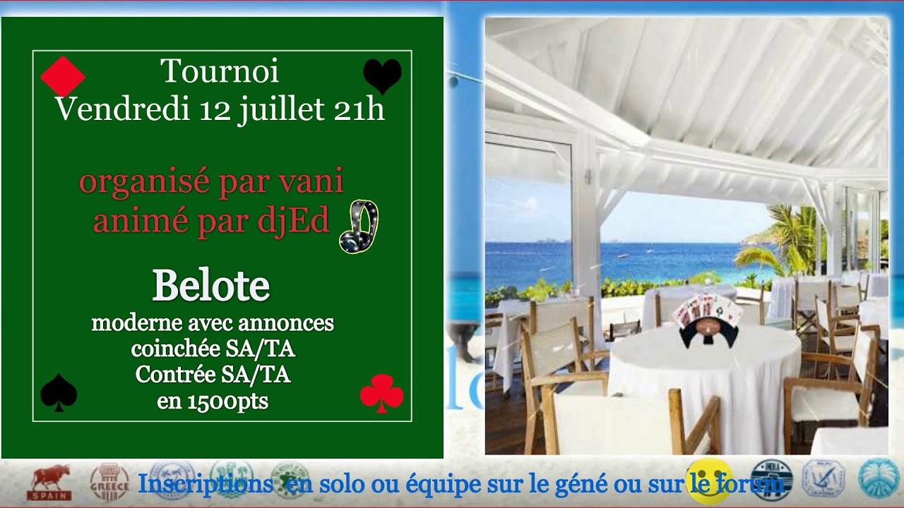 Site De Belote Gratuit Https 123beloteclub Fr Youtube