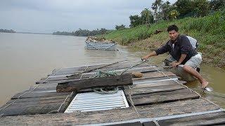 Sáng kiến nuôi cá lồng bè tránh mưa lũ tại Quảng Ngãi