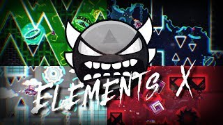 [Insane Demon] Elements X - Eiken (3 Coins) [144hz] Geometry Dash