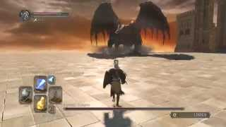 Dark Souls 2 Ancient Dragon Boss EASY