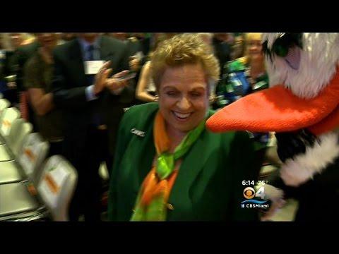 UM Honors President Donna Shalala