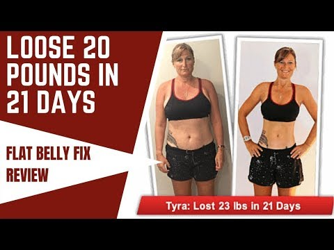 The 21 Day Flat Belly Fix Review | Weight Loss Recipe : DONT BUY TIL SEE THIS !!!
