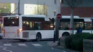 Coventry bendy bus route 4 (Mercedes-Benz Citaro artic)