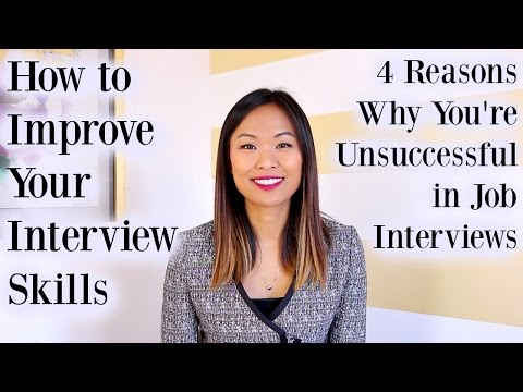 How to Improve Interview Skills - 4 Reasons Why You're Unsuccessful in Job Interviews Mp3
