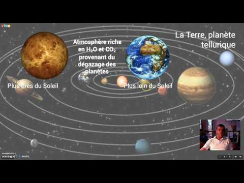 La Terre, planète tellurique
