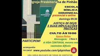 EBD 25/04/2021 -  REFLETINDO SOBRE OS ATRIBUTOS DE DEUS