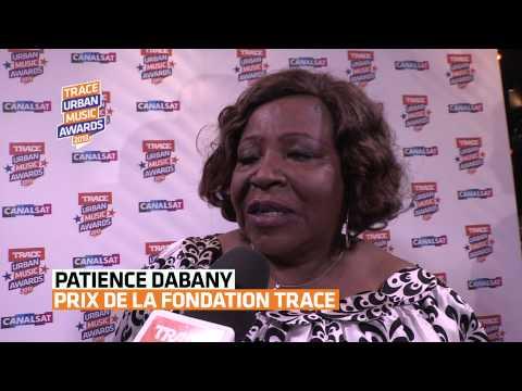 Patience Dabany, prix de la fondation TRACE (TRACE Urban Music Awards 2013)