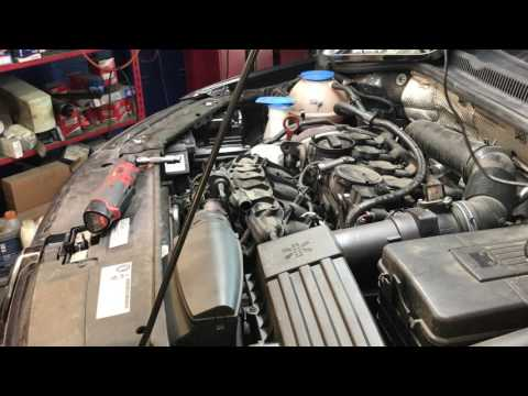 2012 VW TSi 2 0 Intake manifold and valve cleaning