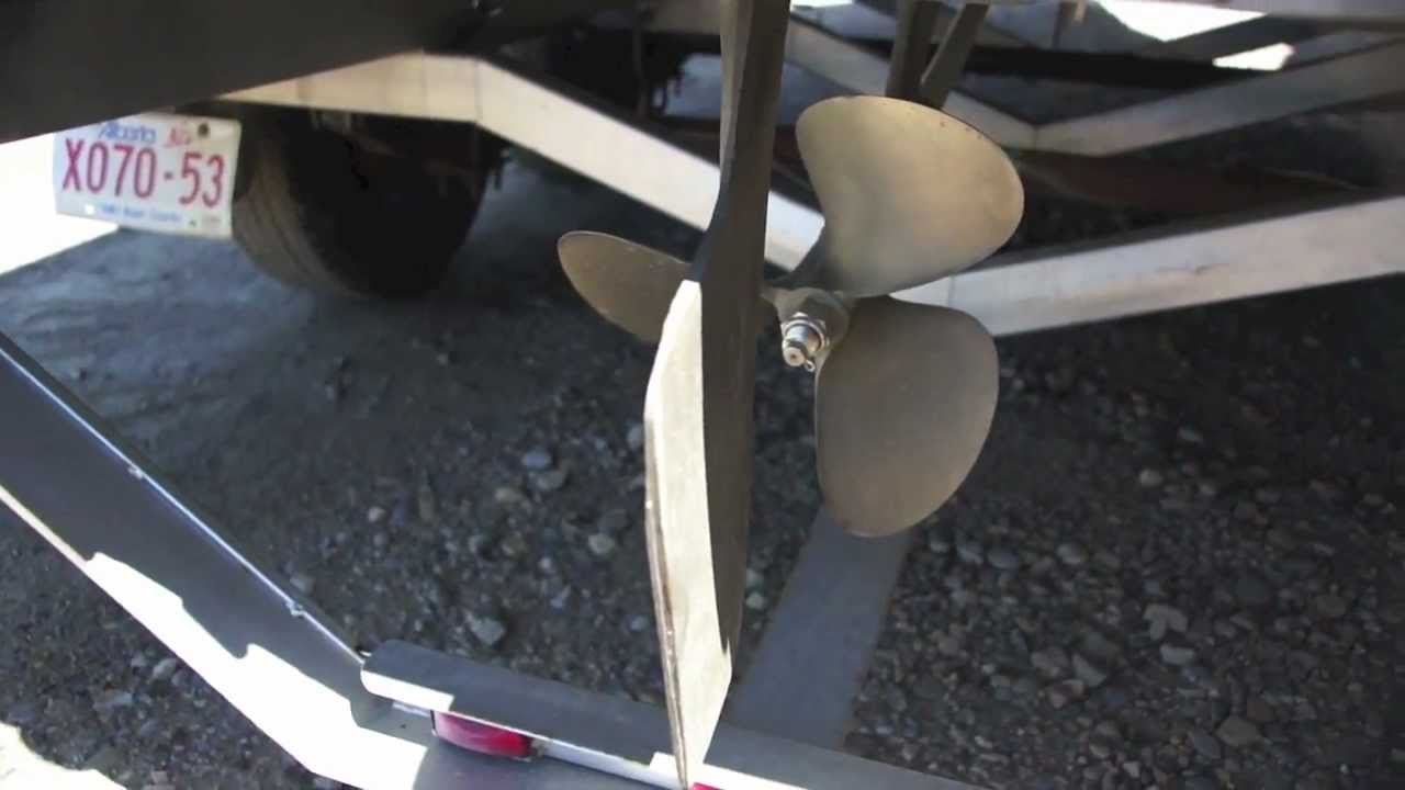 Diy How To Rebuild A Boat Rudder Youtube