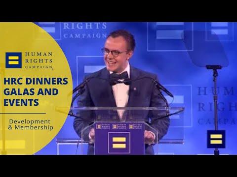 Chasten Buttigieg Speaks at the 2019 HRC Houston Dinner