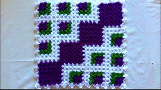 Gambar cover Çiçekli kare lif yapımı takım lif