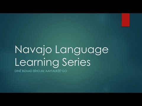 Navajo Lesson 1 - Anatomy of Speech Articulation