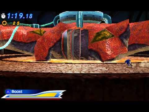 Sonic Generations 3DS - Biolizard