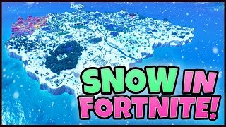 How to get the FULL SNOW MAP in Fortnite! (SNOW MOD) Season 7